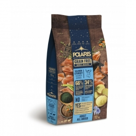 Koeratoit Polaris grainfree adult salmon&turkey 12kg